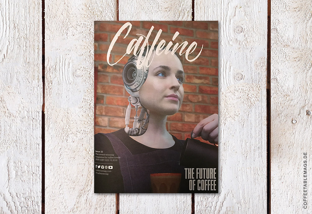 Caffeine – Volume 32 – Cover
