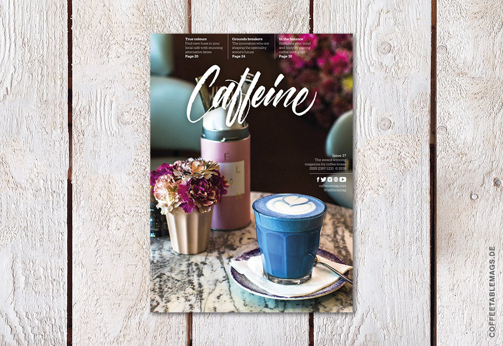 Coffee Table Mags // Independent Magazines // Caffeine – Volume 37 – Cover