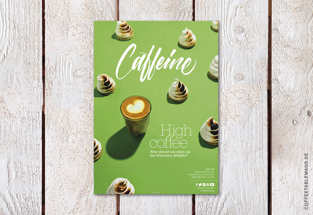 Coffee Table Mags // Independent Magazines // Caffeine – Volume 38 – Cover