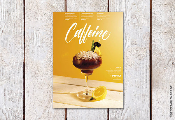 Coffee Table Mags / Independent Magazines / Caffeine – Volume 39 – Cover