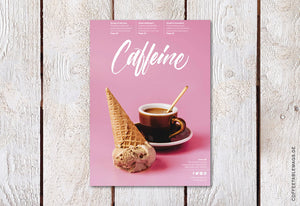 Caffeine Magazine – Volume 40 – Cover