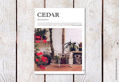 Cedar Magazine – Issue 01
