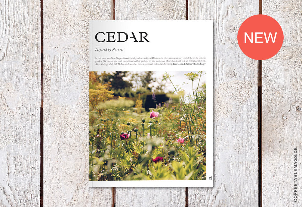 Cedar Magazine – Issue 02 – Cover