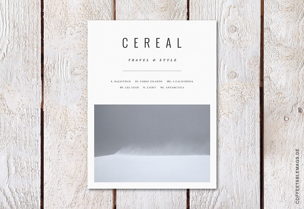 Cereal – Volume 12 – Cover