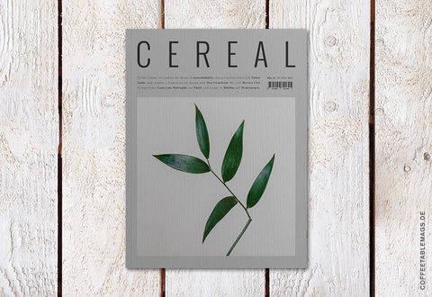 Cereal – Volume 15 – Cover