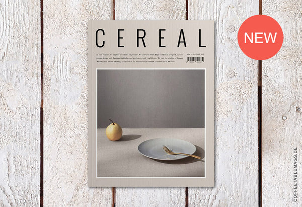 Coffee Table Mags // Independent Magazines // Cereal – Volume 17 – Cover