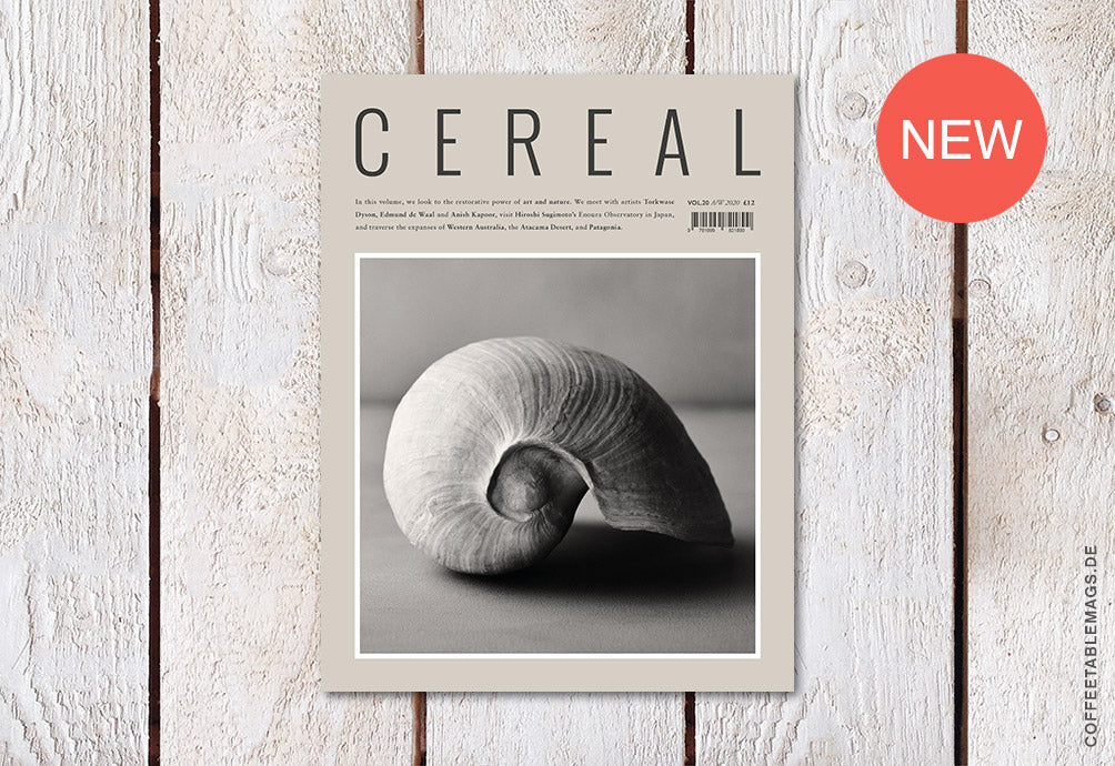 Cereal – Volume 20 – Cover