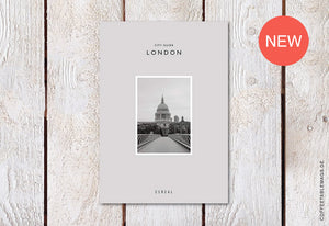 Cereal City Guide: London (2018) – Cover