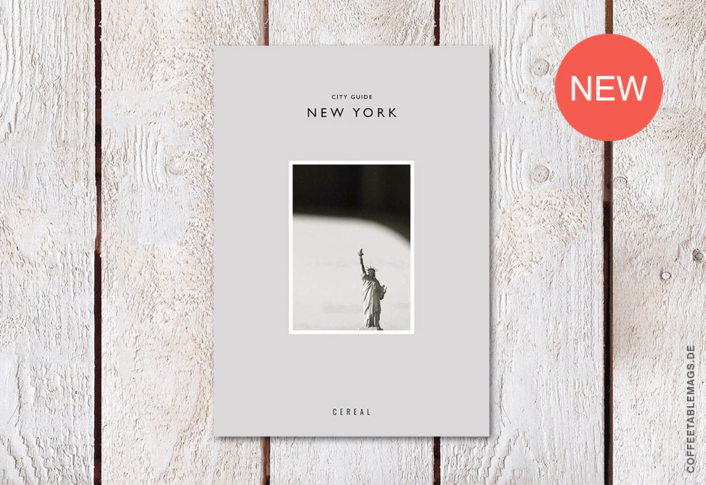 Cereal City Guide: New York (2018) – Cover