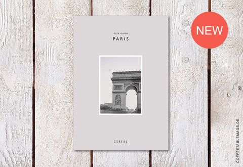 Cereal City Guide: Paris (2018) – Cover