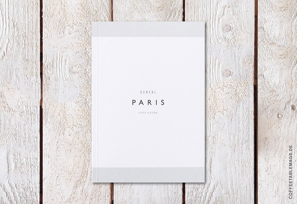 Cereal Magazine – Paris Guidebook – Cover