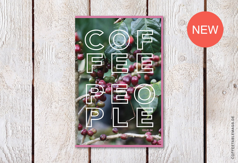 Coffee People Zine – Issue 04 – Cover
