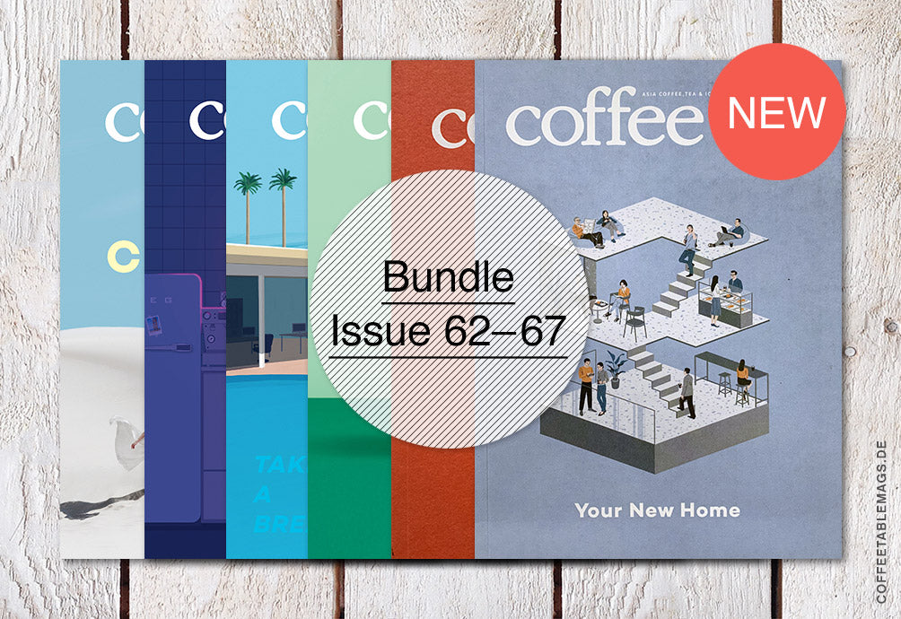 Coffee t&i Magazine – Bundle (Vol. 62–67) – Cover