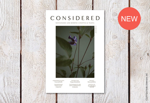 Considered Magazine – Issue 03 – Cover