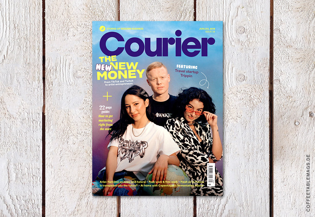Courier – Issue 29: The New New Money – Cover