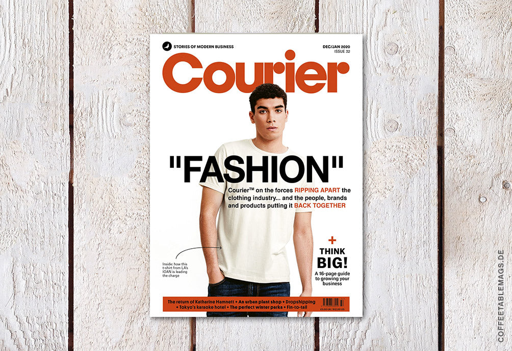 Courier – Issue 32: Fashion – Cover