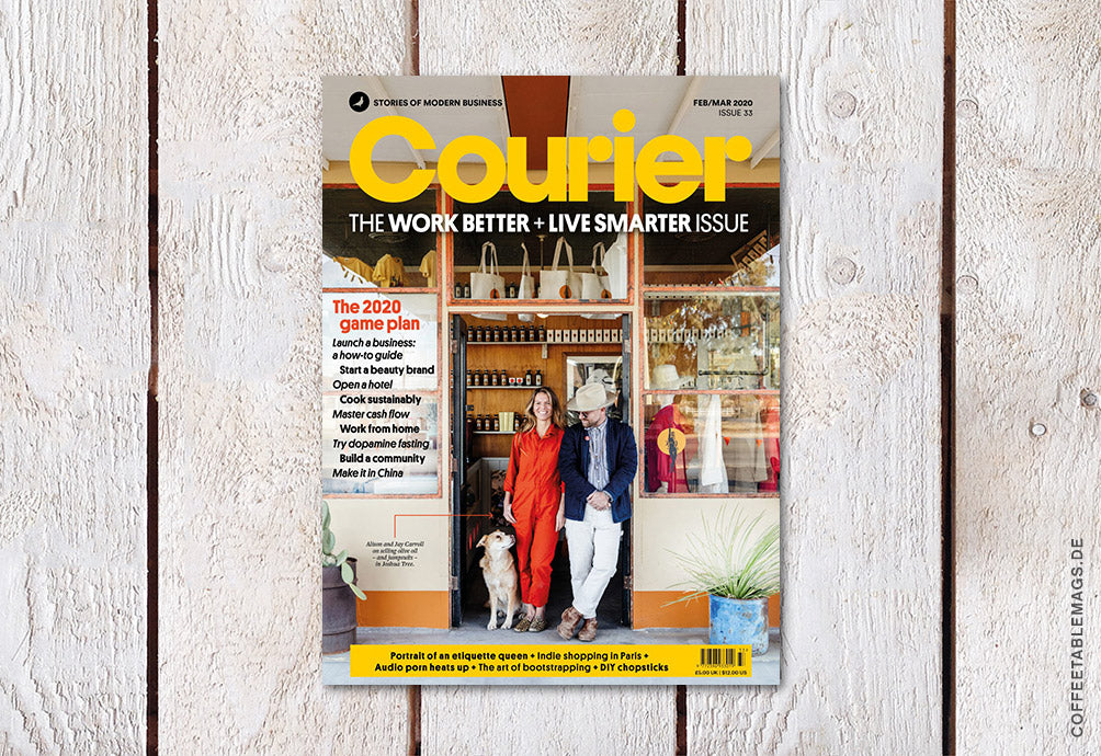 Courier – Issue 33: Work Better + Live Smarter – Cover