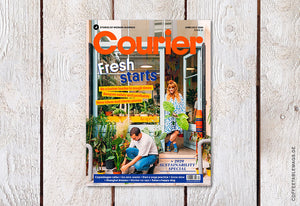 Courier – Issue 35: Fresh Starts – Cover