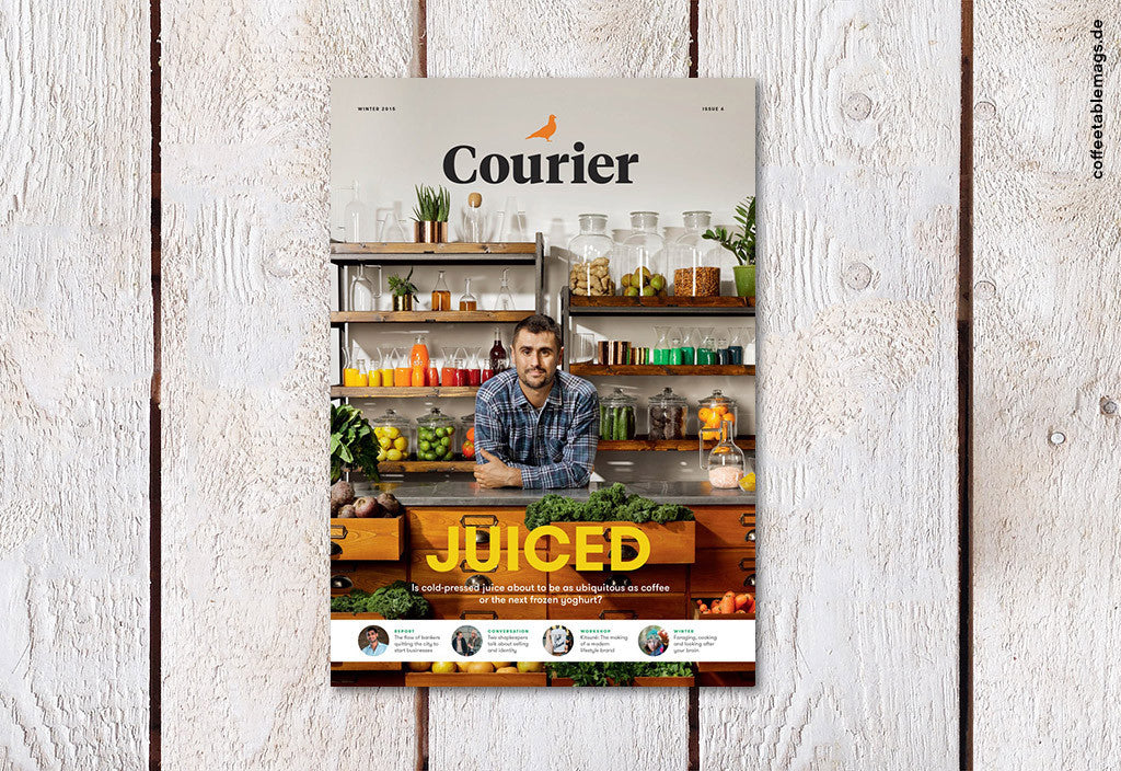 Courier Paper – Issue 06 – Cover
