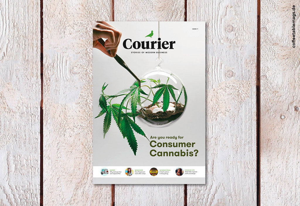 Courier Paper – Issue 7 – Cover