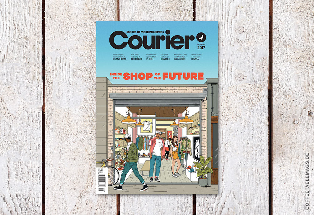 Courier Paper – Issue 19 – Cover