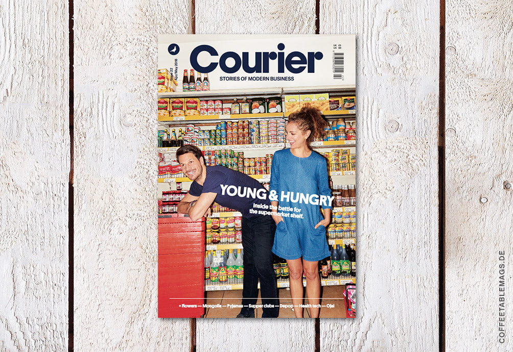 Courier Paper – Issue 22: Young & Hungry – Cover