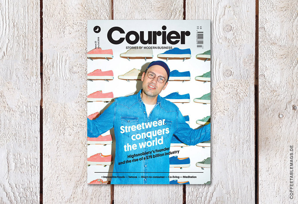 Courier Paper – Issue 23: Streetwear conquers the world – Cover