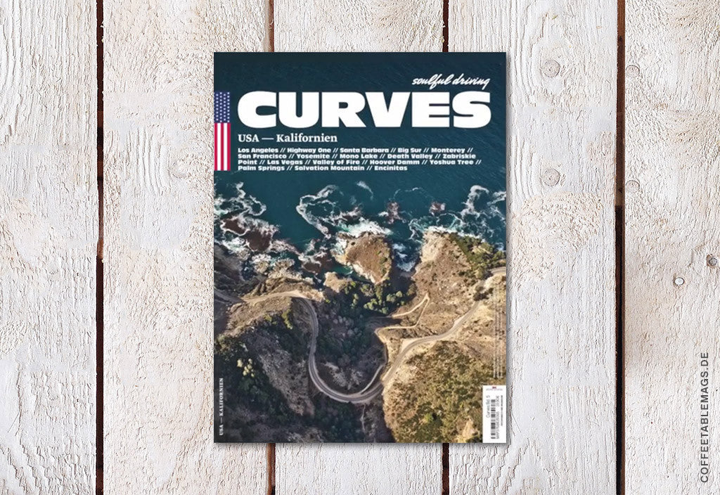 Curves Magazine – Number 6 (California) – Cover