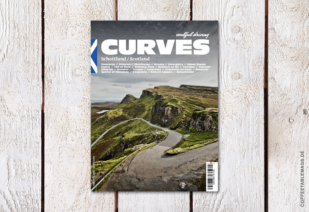 Curves Magazine – Number 8: Scotland – Cover