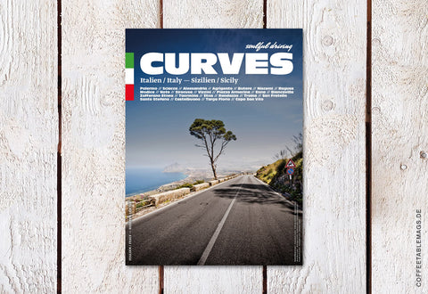Curves Magazine – Number 7: Sicily – Cover