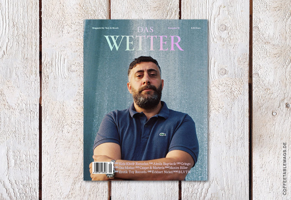 Coffee Table Mags // Independent Magazines // Das Wetter – Nummer 16 – Cover