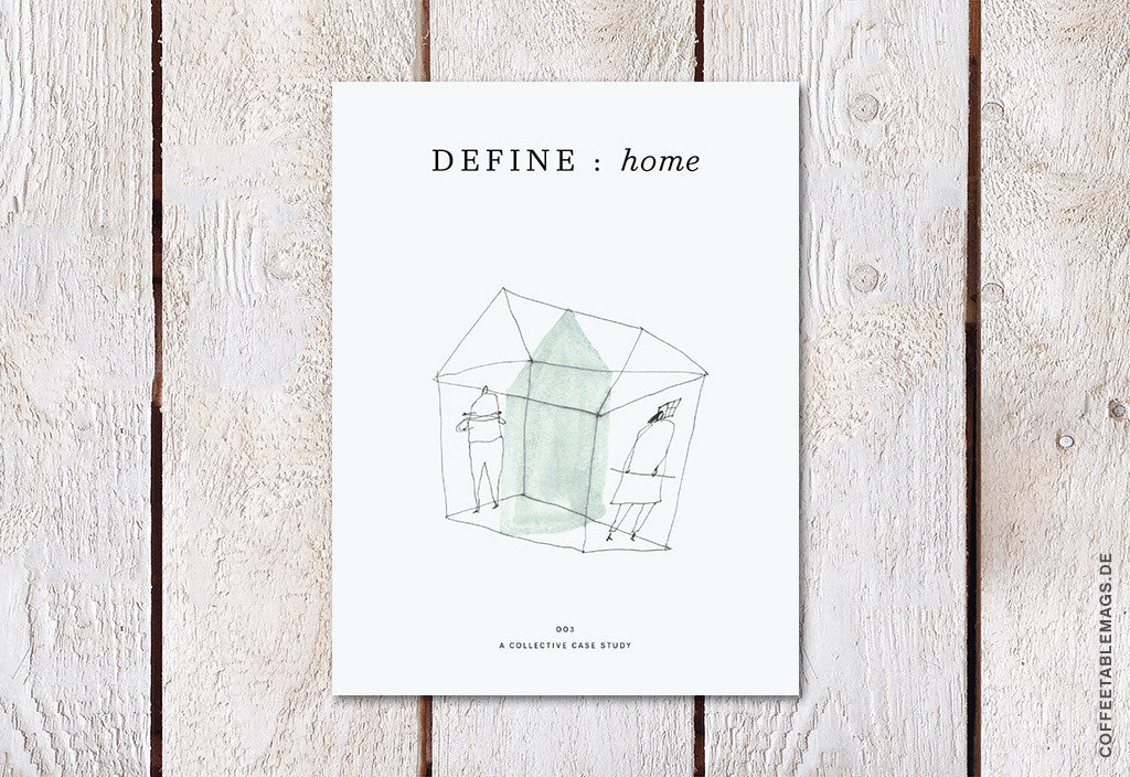 Define Magazine – 03: home – Cover