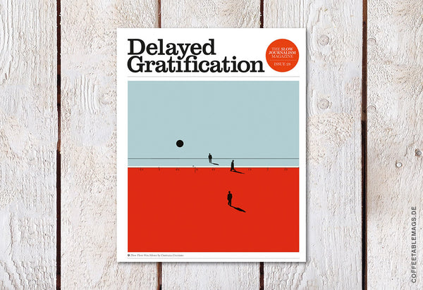Delayed Gratification – Issue 28 – Cover
