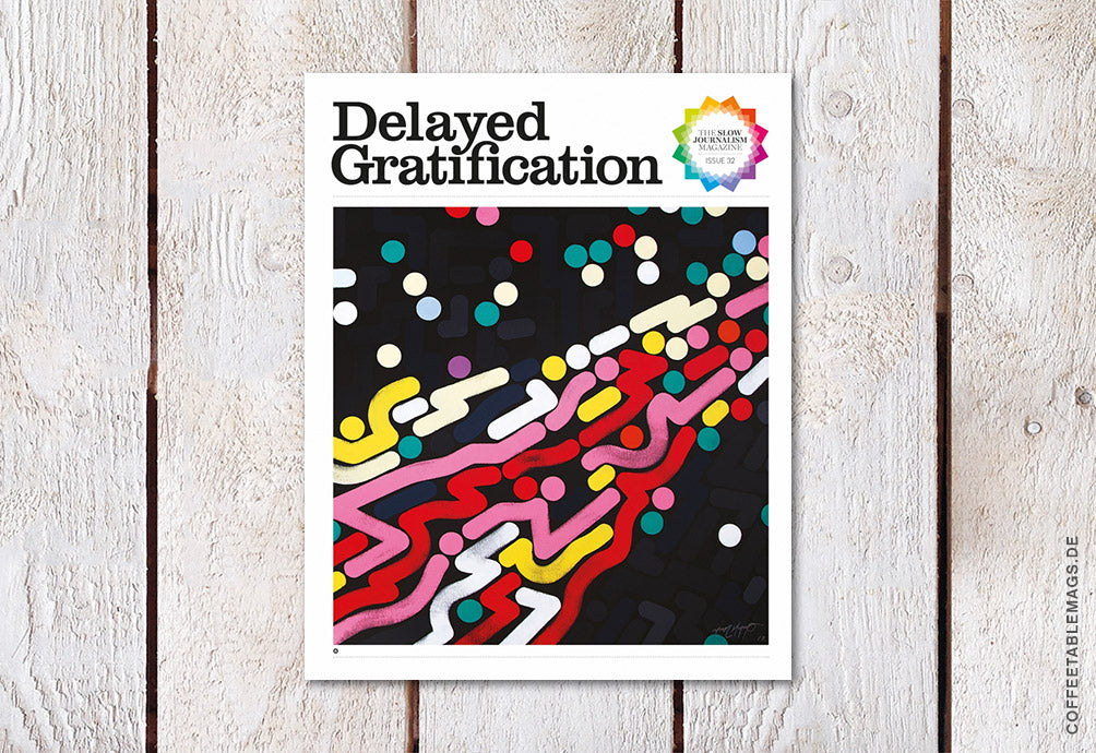 Coffee Table Mags / Independent Magazines / Delayed Gratification – Issue 32 – Cover