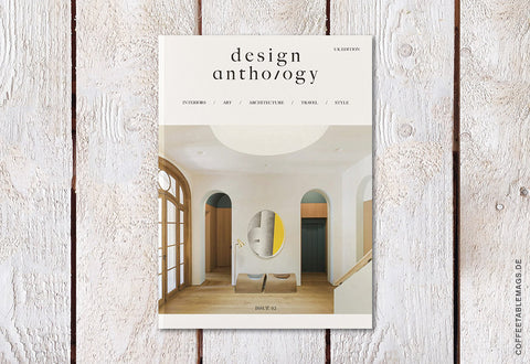 Coffee Table Mags // Independent Magazines // Design Anthology UK Edition – Issue 02 – Cover