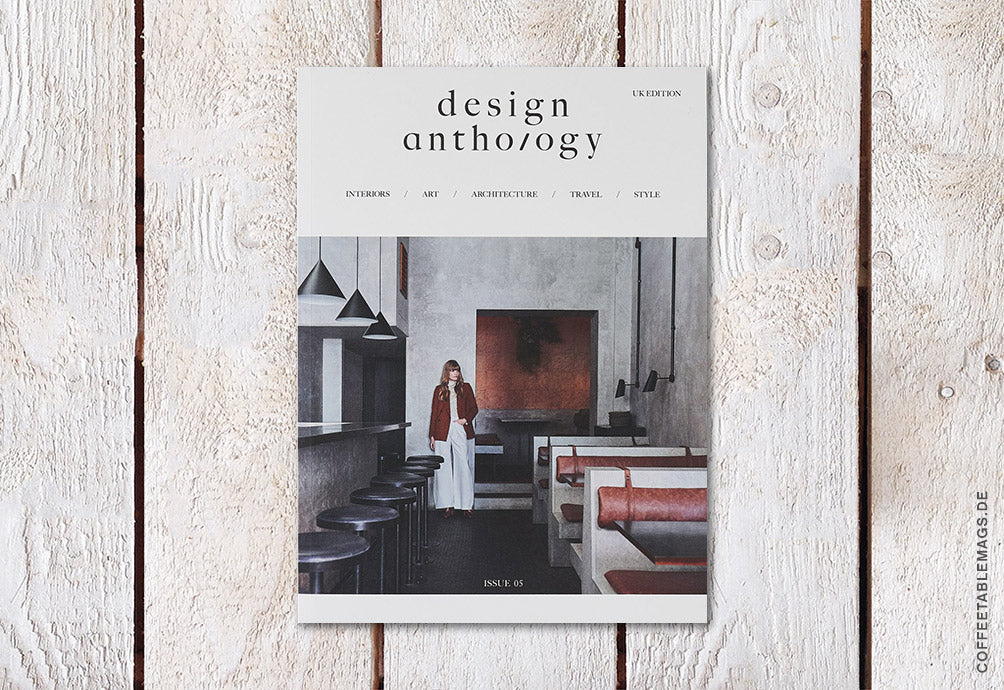 Design Anthology UK Edition – Issue 05 – Cover