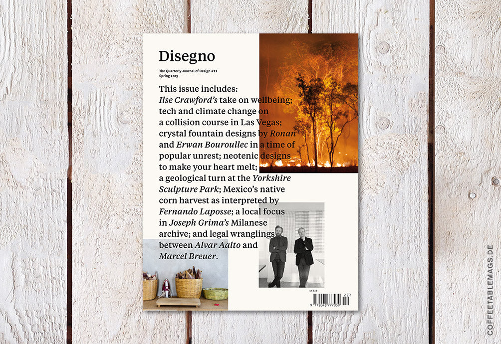 Coffee Table Mags / Independent Magazines / Disegno – Number 22 – Cover