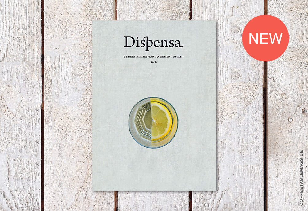 Dispensa Magazine – Issue 10 – Cover