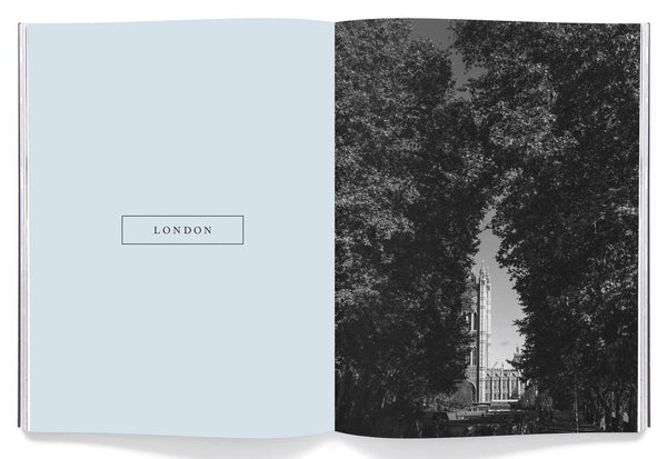 Coffee Table Mags // Independent Magazines // Drift – Issue 8: London – Inside 01