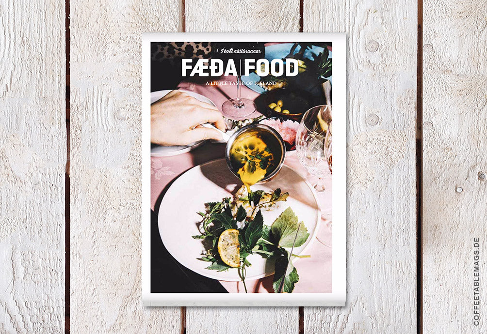 Coffee Table Mags / Independent Magazines / Fæða/Food – Issue 03 – Cover