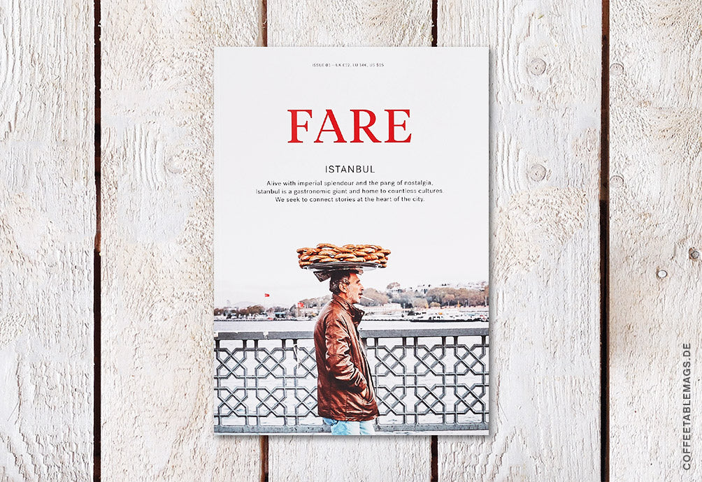 Fare Magazine – Issue 1: Istanbul – Cover