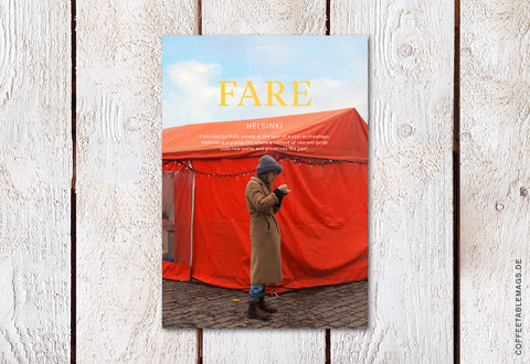 Fare Magazine – Issue 2: Helsinki – Cover