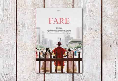 Fare Magazine – Issue 4: Seoul – Cover