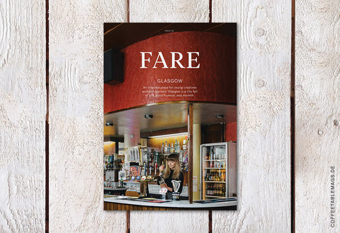 Fare Magazine – Issue 5: Glasgow – Cover
