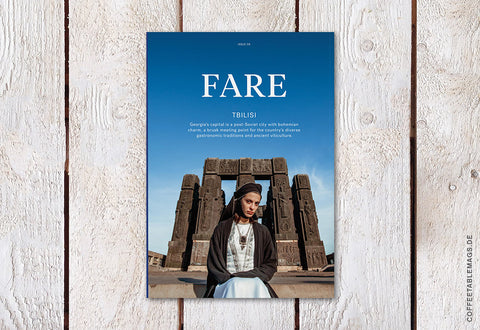 Fare Magazine – Issue 6: Tbilisi – Cover