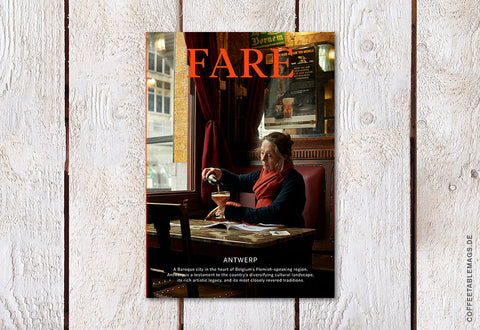 Fare Magazine – Issue 7: Antwerp – Cover