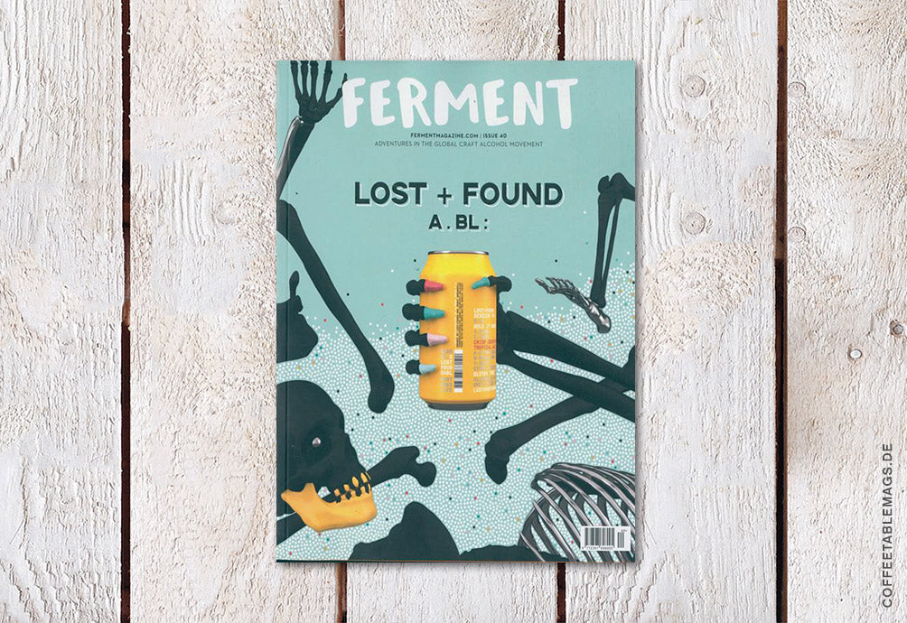 Ferment Magazine – Issue 40 – Cover