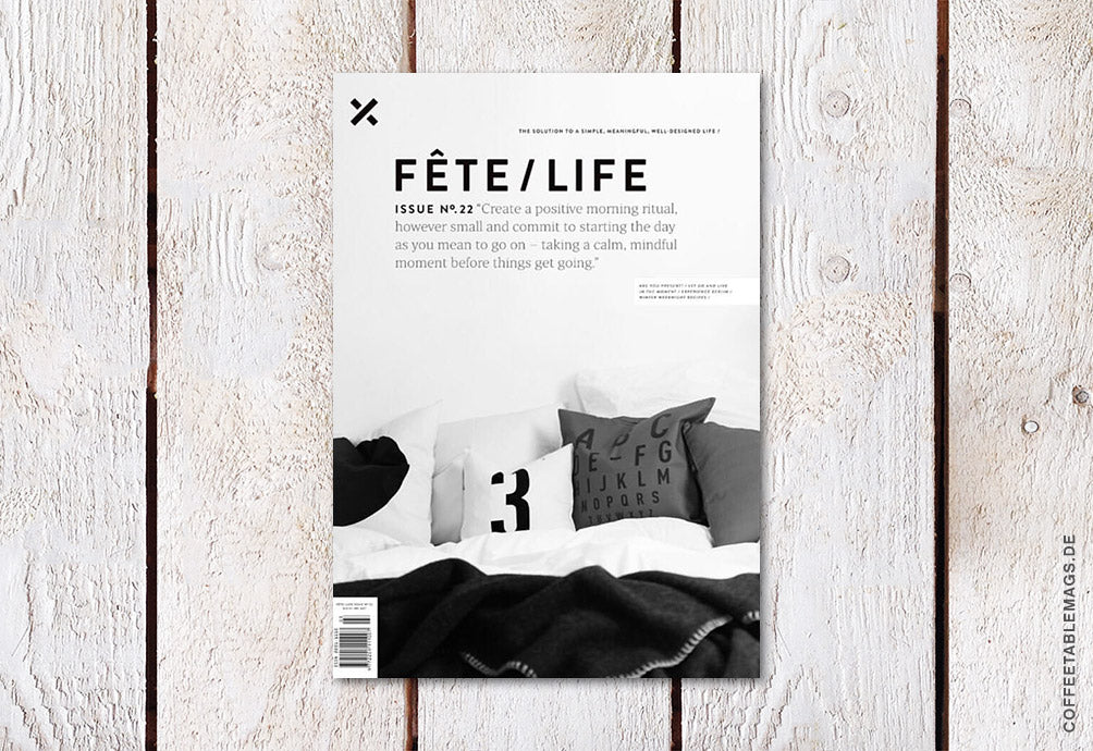 Fête/Life – Issue No. 22 – Cover