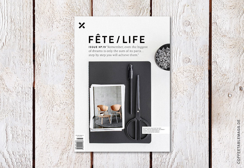 Fête Issue No.19 – Cover