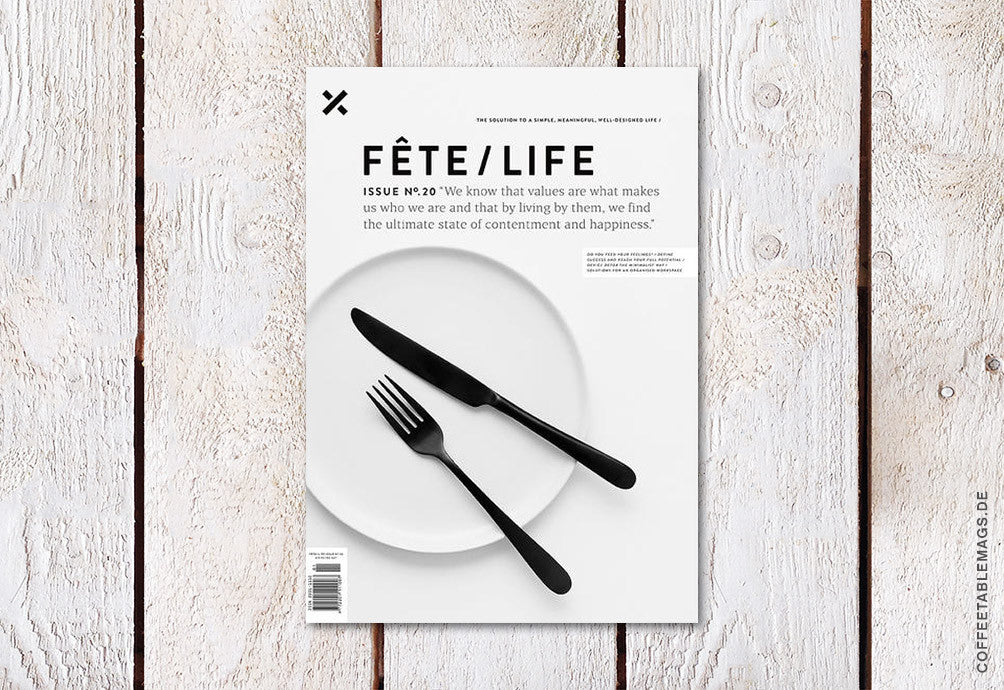 Fête/Life Issue No.20 – Cover